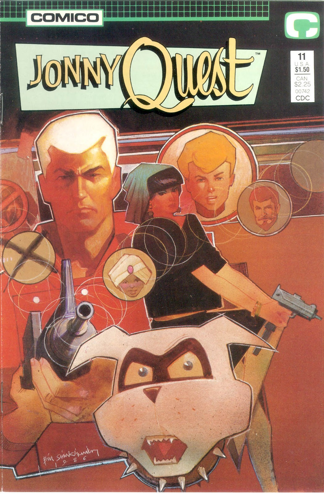 Jonny Quest (1986) issue 11 - Page 2