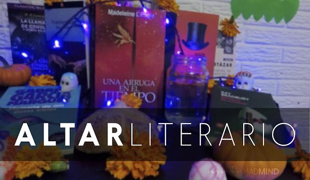 [MES DEL TERROR] Altar literario