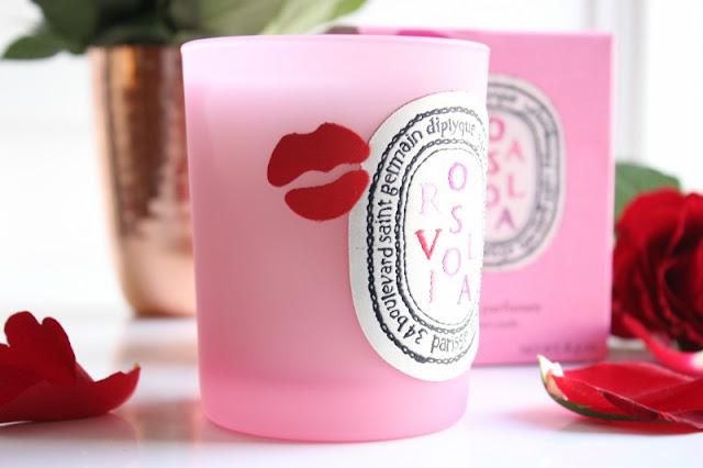 Diptyque x Olympia Le-Tan Rosaviola Candle