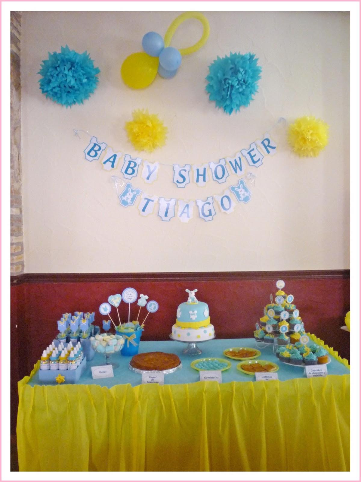 Baby nina fiestas julio 2013 - Decoracion baby shower nina sencillo ...