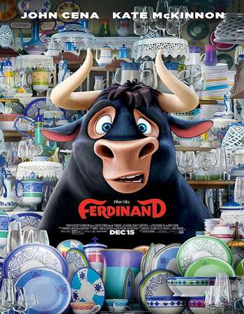 Poster Of Ferdinand 2017 In Hindi Bluray 720P Free Download