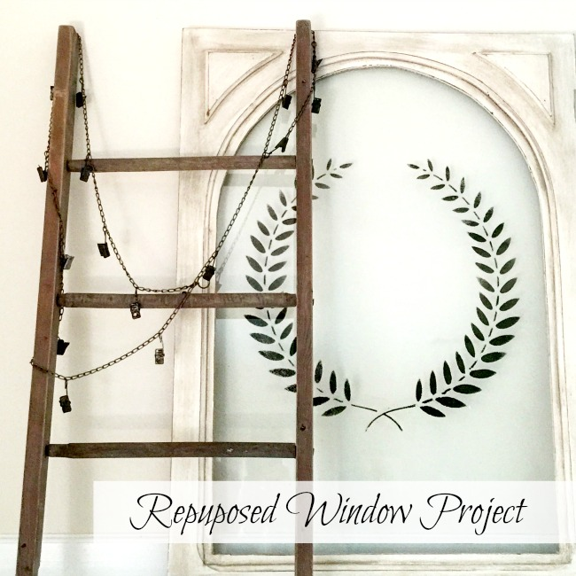 Beautiful Repurposed Hutch Door www.homeroad.net