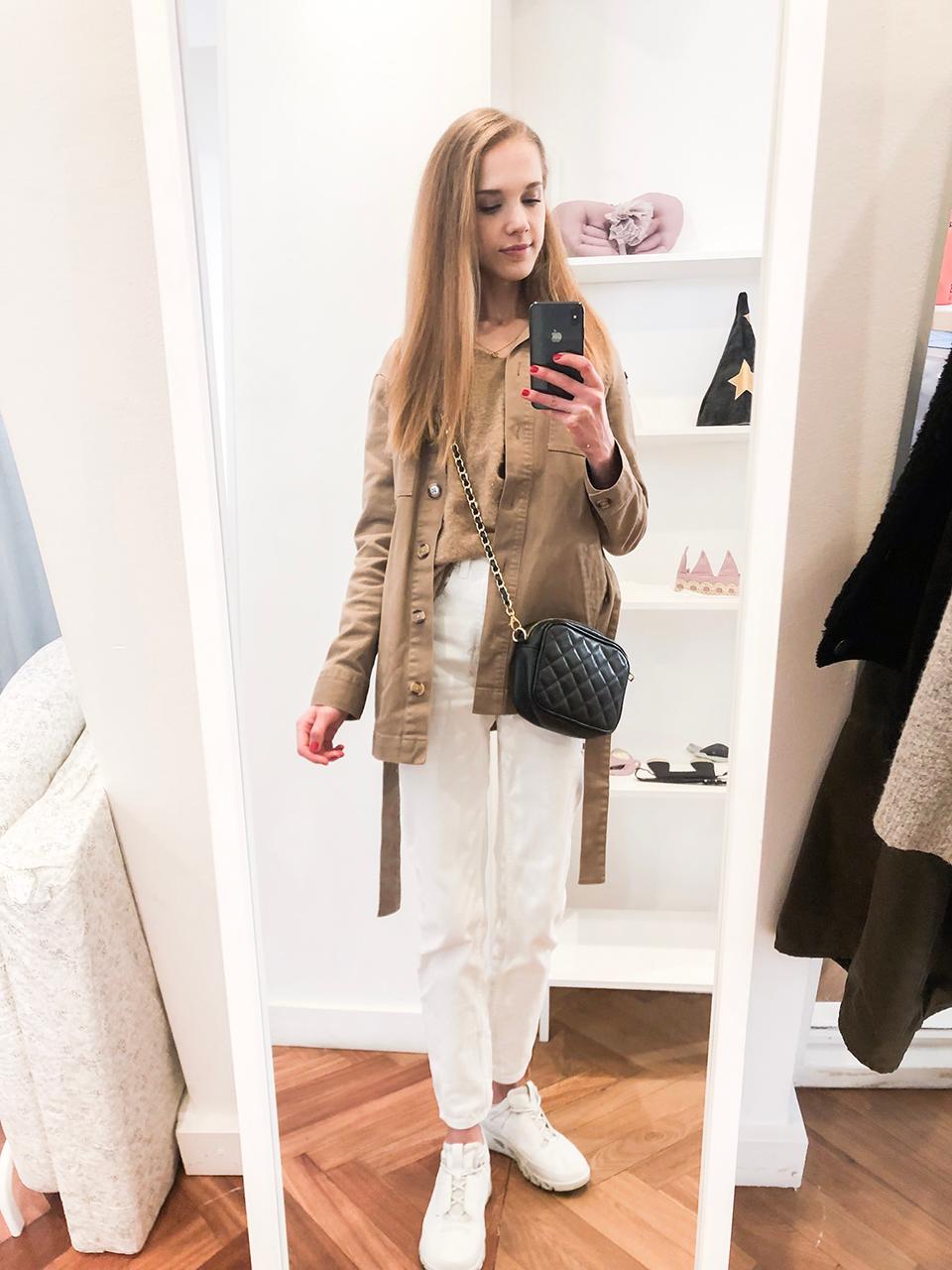 Fashion blogger outfit autumn 2019 neutral tones - Muotibloggaaja syysmuoti-inspiraatio 2019, neutraalit värit