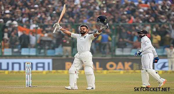 Virat Kohli slams double hundred