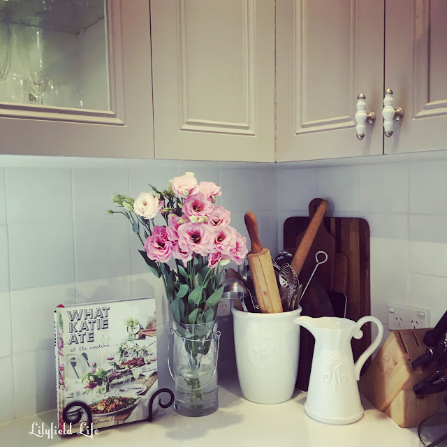 flowers in my french kitchen Lilyfield Life