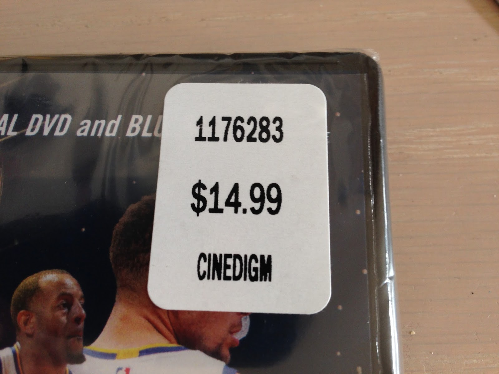 Deal for the Golden State Warriors Official 2017 Championship DVD and Blue-ray at Costco