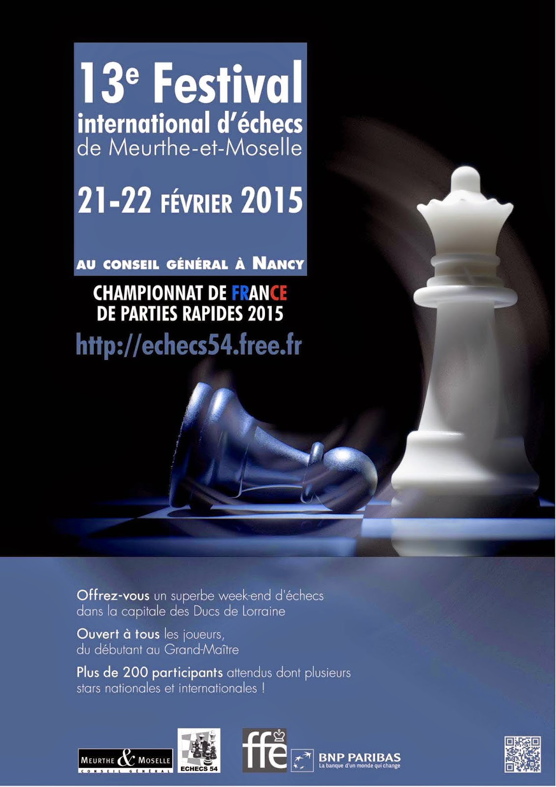 13e Festival d'échecs de Meurthe et Moselle - Photo © Chess & Strategy
