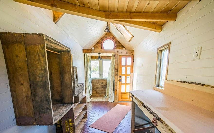 Casa o cabaña muy pequeña
