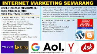 Pelatihan Internet Marketing Magelang