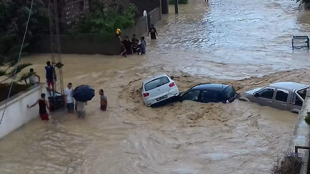 الفيضانات أكثر الظواهر تأثيرا على البشرية