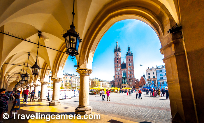 When in Krakow city of Poland, exploring Market Square is a must and while in Market Square, you can't miss this beautiful architecture standing tall on one side of the square - St Mary's Basilica. This post would talk about the ways to reach St Mary's Basilica, what to do around the market Square of Krakow city in Poland, some specific timings to visit the place to enjoy special stuff/events and more things to do around St Mary's Basilica in Krakow. And as we progress, we may have much more to share and we love interacting through comments for specific questions, like how much time should spend around Market Square when there are 3 days to explore Krakow.