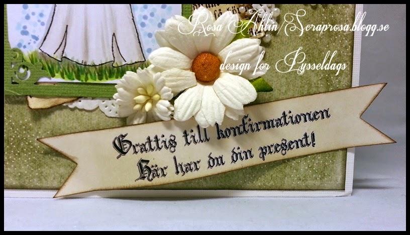 grattis till konfirmationen Pysseldags: Konfirmationskort med presentkortsinsats   tutorial grattis till konfirmationen