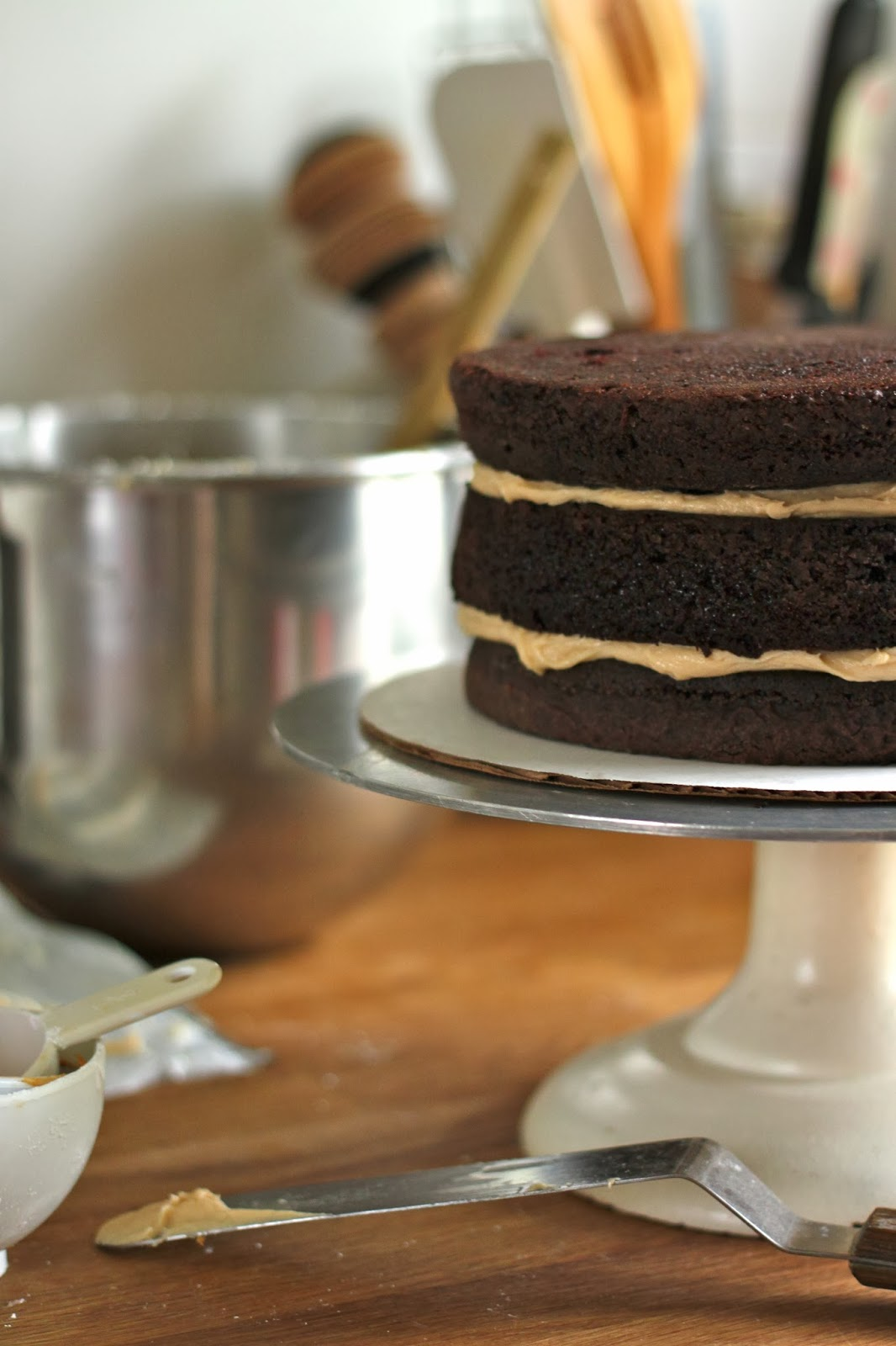 Permalink to Chocolate Cake With Peanut Butter Frosting Smitten Kitchen