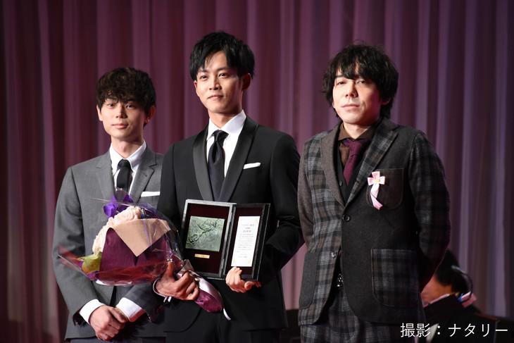 Tori Matsuzaka, Masaki Suda y Daisuke Miura