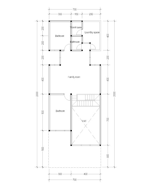 2nd Floor Plan for Plan c-23