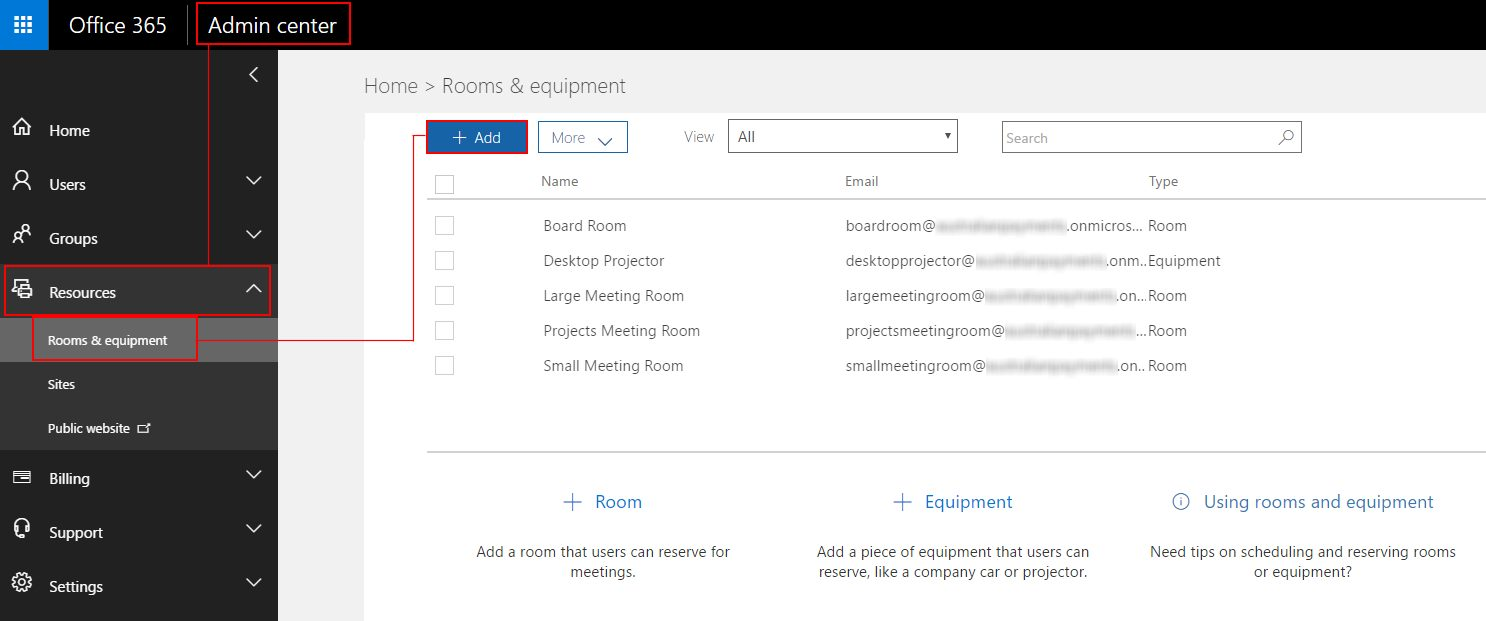 Set Up Rooms In Outlook