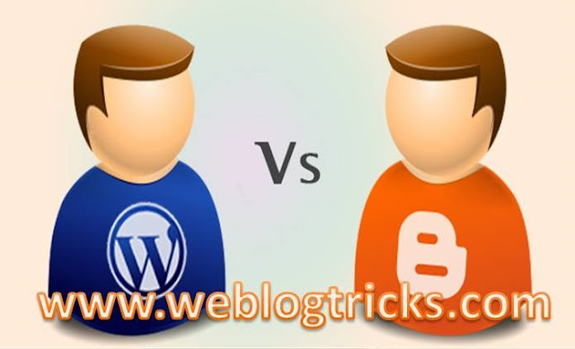 Blogger Vs WordPress which is better