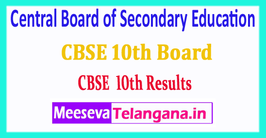 CBSE 10th Central Board of Secondary Education CBSE 10th Results 2018