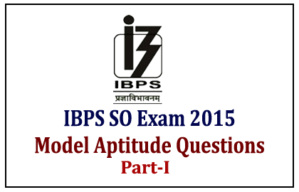 IBPS Specialist Officer Exam 2015