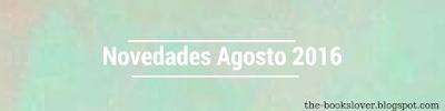 Novedades Agosto 2016: Editorial Océano