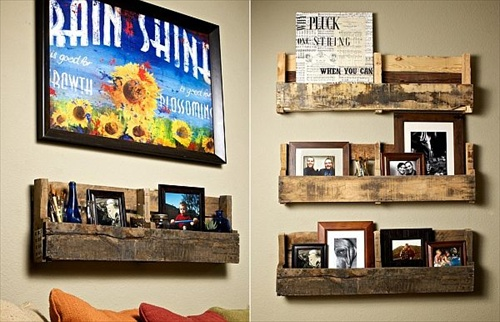 wooden pallet wall decoration