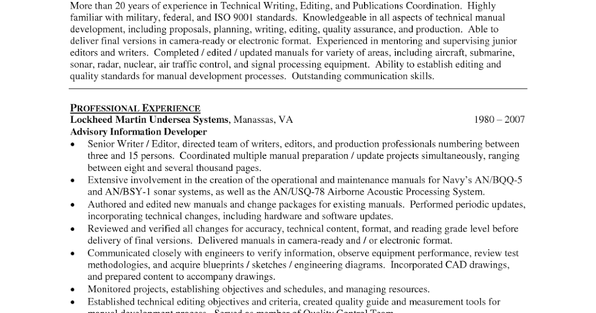 sample resume writing sample resumes