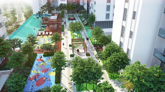 Phối cảnh Sky Garden Ruby City Ct3