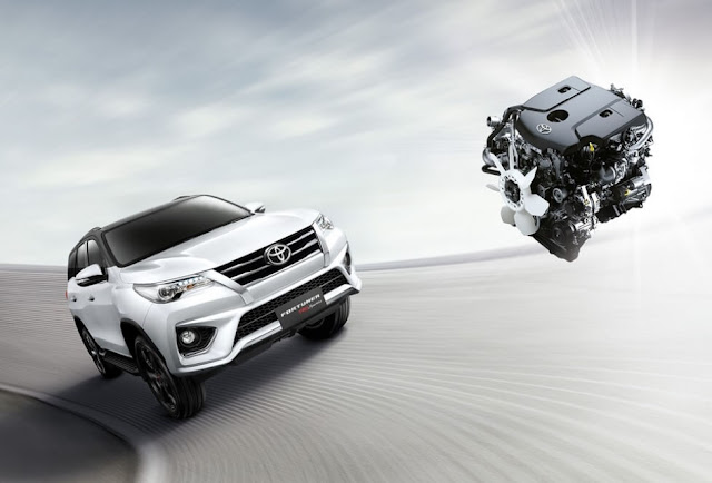 New Fortuner 2.8 TRD Sportivo