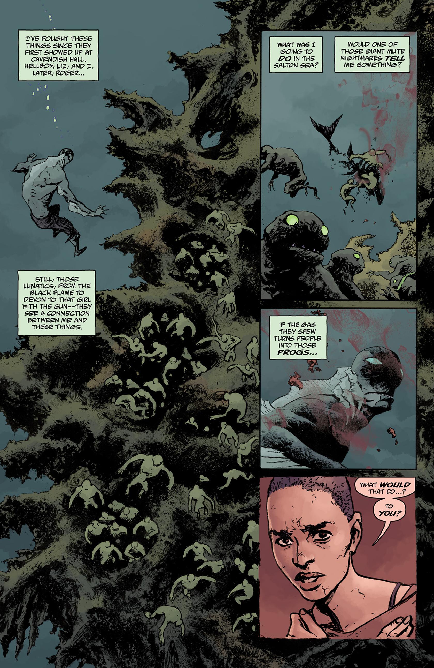 Read online Abe Sapien comic -  Issue #24 - 19