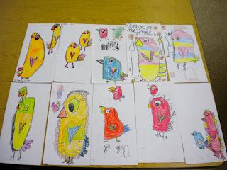 turn into art sub lesson plan....birds and birdhouses