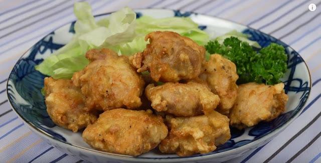 Clip สาธิตวิธีทำ ไก่คาราอาเกะ - Chicken Karaage โดยเชฟญี่ปุ่น