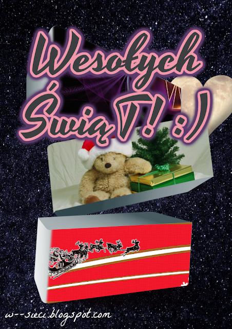 Kreatywne kartki świąteczne