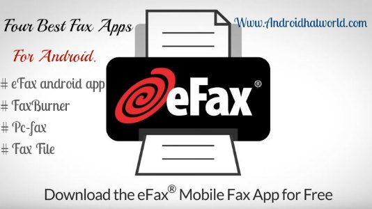 Free-fax-app-for-android