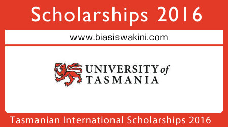 Tasmanian International Scholarships (TIS) 2016