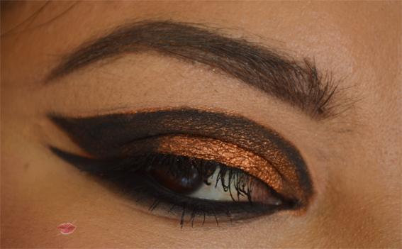 Make-up occhi rock tribale ispirato alla collezione autunno/inverno di balmain