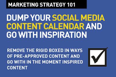 dump your social media content calendar