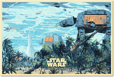 Star Wars: Rogue One Regular Edition Screen Print by Killian Eng x Bottleneck Gallery