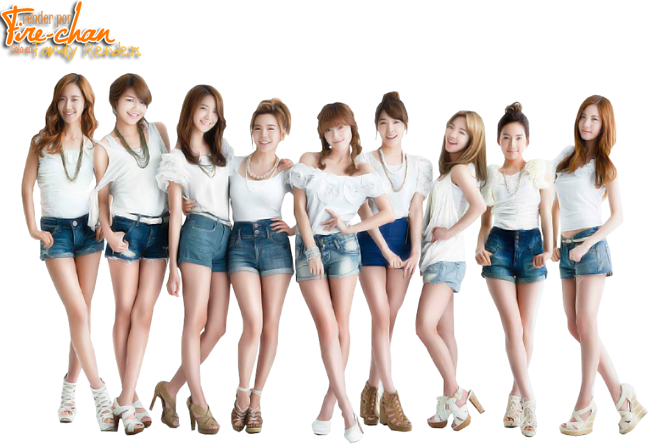 Png - SNSD