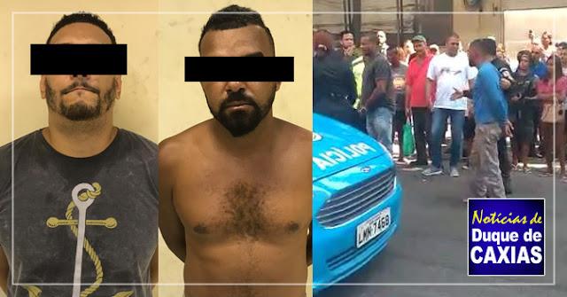Polícia detém três acusados de roubo ao Banco Santander de Duque de Caxias