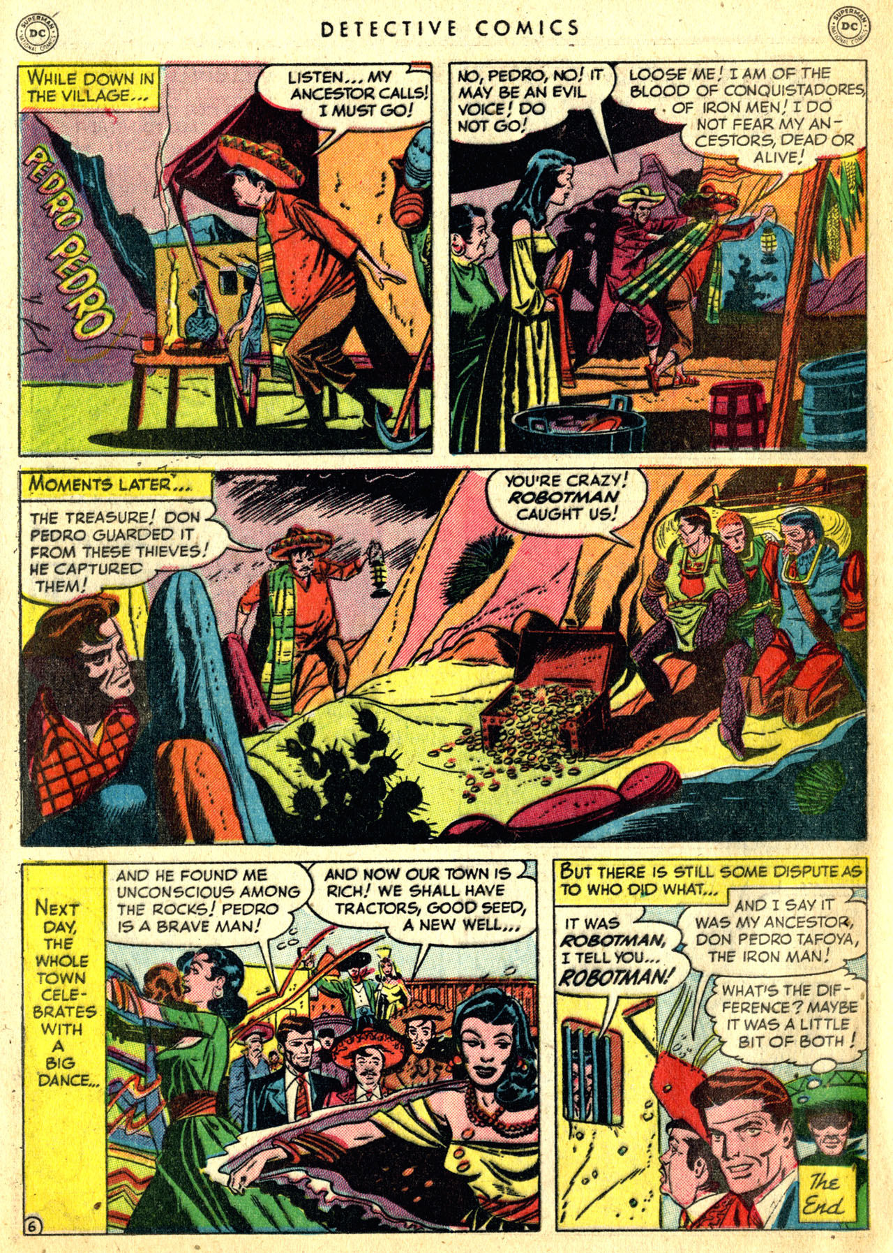 Read online Detective Comics (1937) comic -  Issue #168 - 34