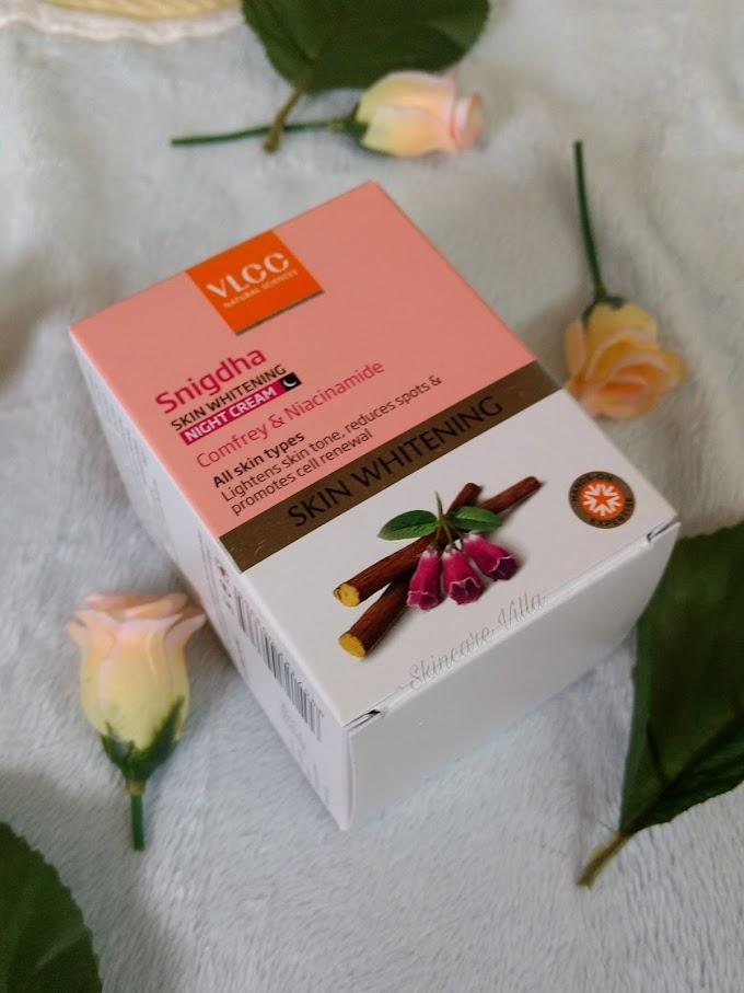 Does VLCC Snigdha Skin Whitening Night cream serve the purpose of a nourishing night cream?