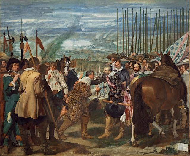 Diego Velázquez - La rendicion de Breda - c.1635