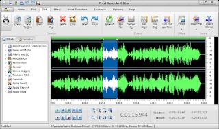 برنامج تسجيل الصوت من الكمبيوتر بجودة عالية Total Recorder Editor