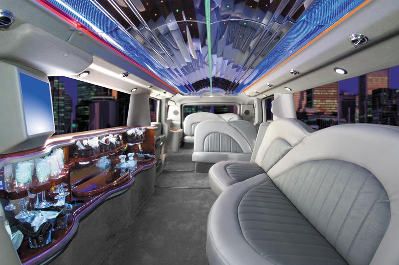 Sports Cars Hummer Limousine Interior