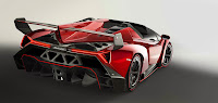 Lamborghini Veneno Roadster rear side