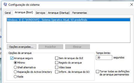 Como entrar em modo segurança no Windows 10