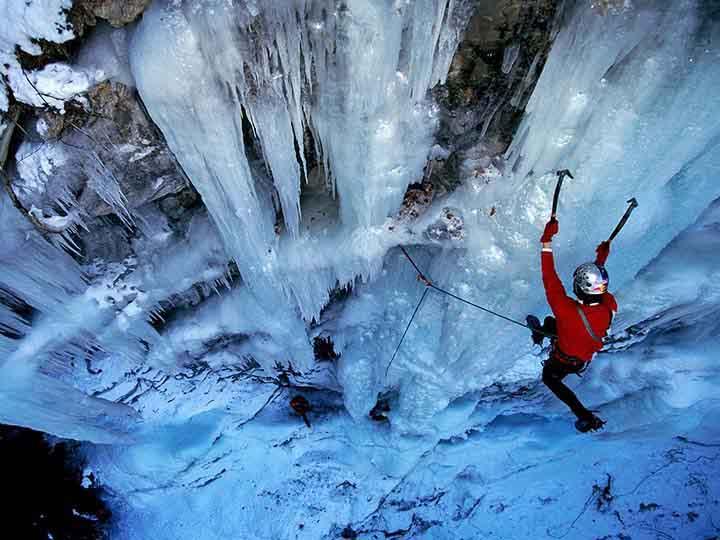 kış resimleri ve dağcılık