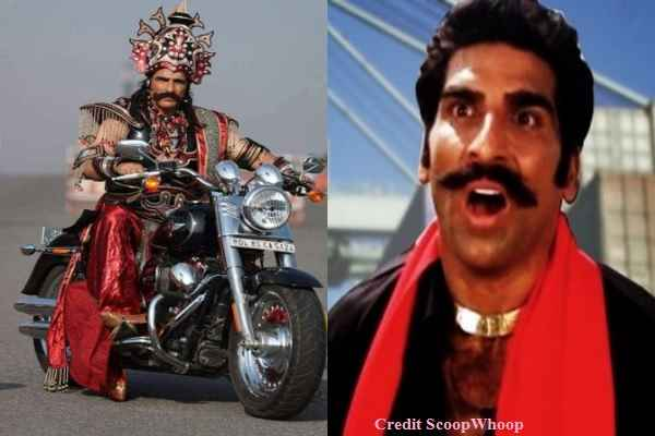 delhi-police-chalan-film-actor-mukesh-rishi-seen-witount-helmet