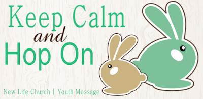 Easter Banner - Keep Calm and Hop On | Banners.com