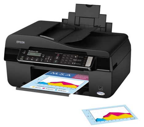 epson workforce 520 printer driver